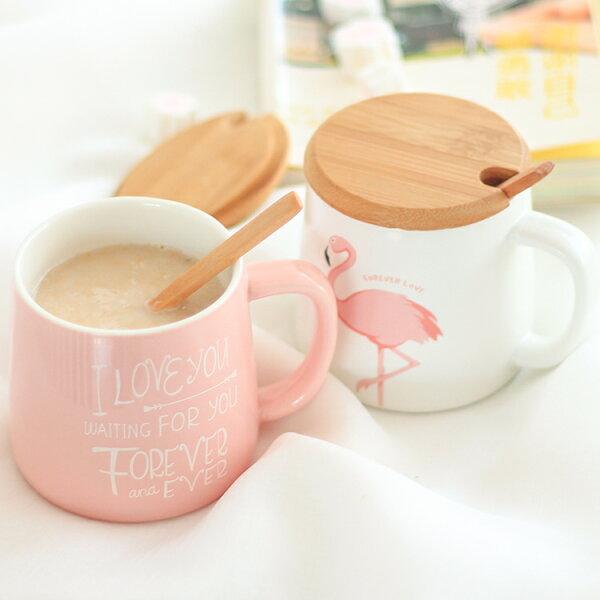 PGS7人氣推薦商品-紅鶴木頭蓋馬克杯(附木頭湯匙)水杯【SEZ80139】