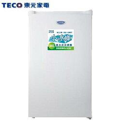 TECO 東元 RL84SW 直立式單門冷凍櫃 84L