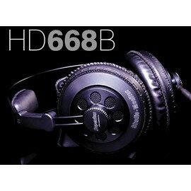 志達電子 HD668B SuperLux HD-668B 半開放式專業用監聽耳機(公司貨)