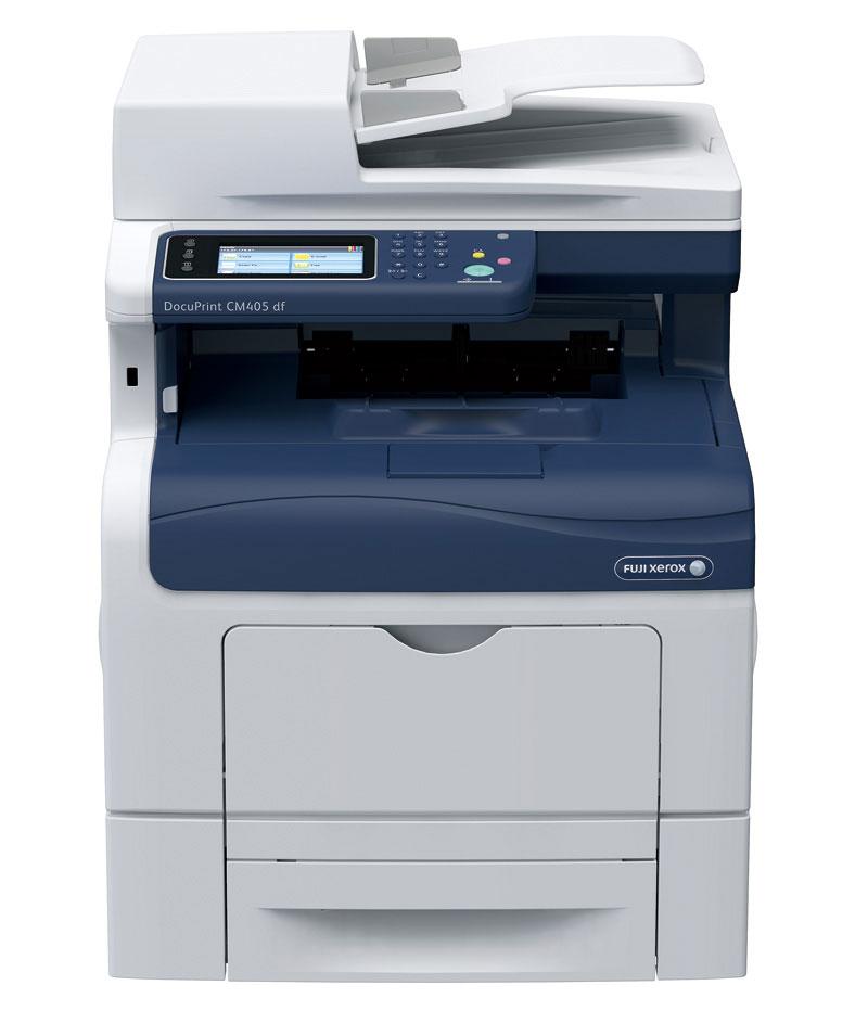 FujiXerox 富士全錄 DocuPrint CM405df A4 彩色多功能複合機 1