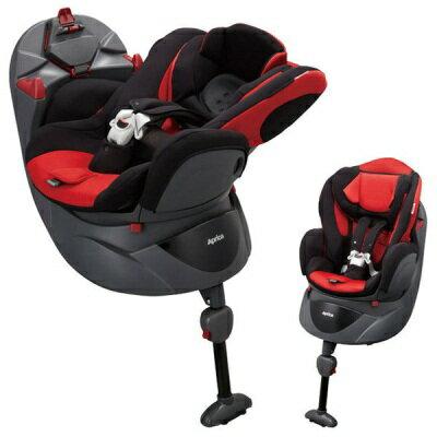 Aprica平躺型嬰幼兒汽車安全臥床椅Fladea STD 699 -紅