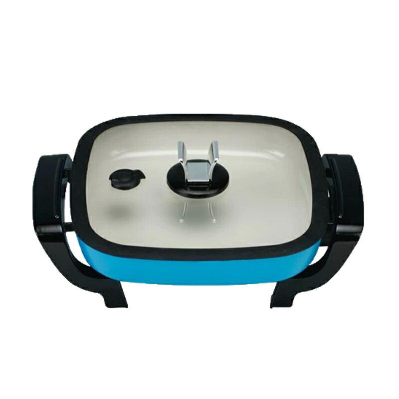 【EUPA優柏】2公升多功能陶瓷電炒鍋 燒烤爐 TSK-2223CG2 保固免運
