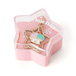 三麗鷗 雙子星 造型 懷舊 項鍊 星星 盒子 禮物 日貨 正版 授權 L00010298