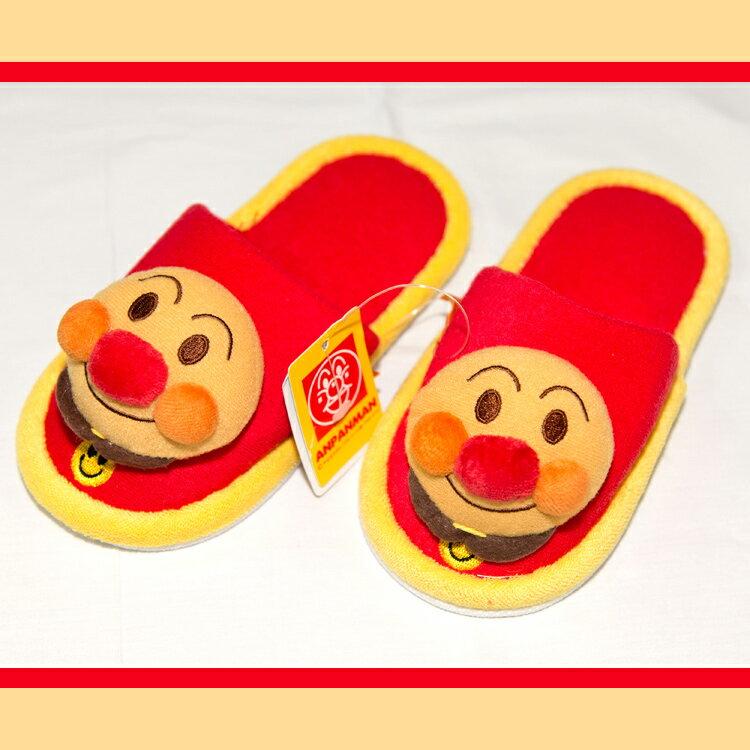 紅色 麵包超人 幼兒室內拖鞋 適合14-16cm 日本帶回正版商品