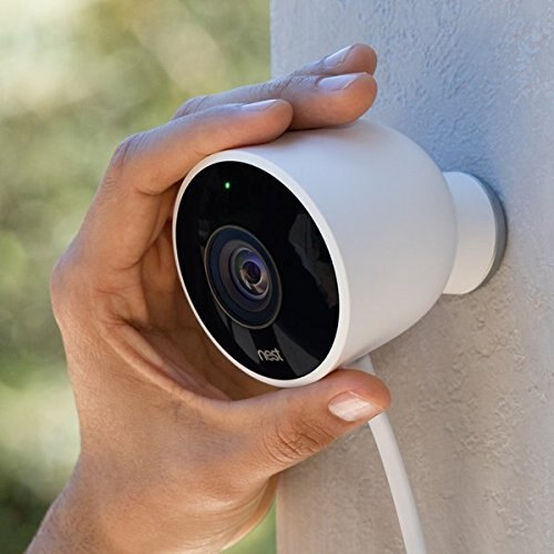 Nest Cam Outdoor Security Camera, Works with Amazon Alexa 2