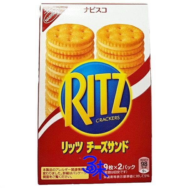NABISCO 億滋 RITZ 起司夾心餅  起士夾心  1盒160公克 103元 ~45