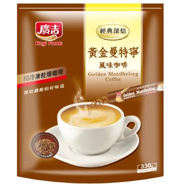 ~廣吉~ 黃金曼特寧咖啡  22公克X15包