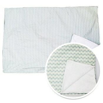 小烏龜精品童裝店:純棉材質.呵護寶貝細緻肌膚ORGANICFACTORY棉柔毯-薄荷叢林