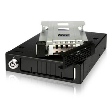 [富廉網] ICY DOCK MB991IK-B 單層 2.5轉3.5吋 裝置空間 硬碟抽取盒