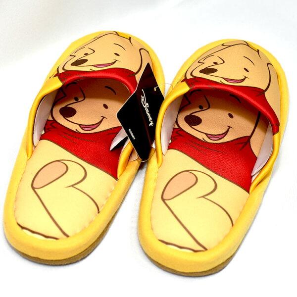小熊維尼pooh室內拖鞋日本帶回正版商品迪士尼