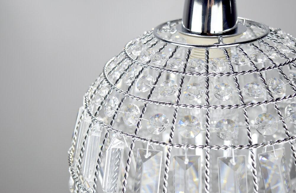 鍍鉻水晶圓形吊燈-BNL00104 4