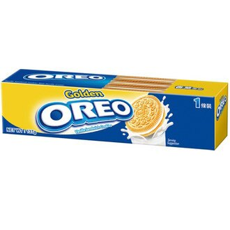 OREO 金奇奧利奧 香草夾心餅乾 137g