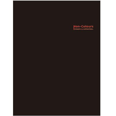 美加美 AG1504 NC200名膠皮名片簿-黑 /本