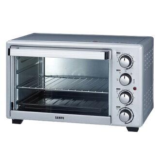 ◤A級福利品‧數量有限◢ SAMPO 聲寶 30L雙溫控油切旋風烤箱 KZ-PG30F
