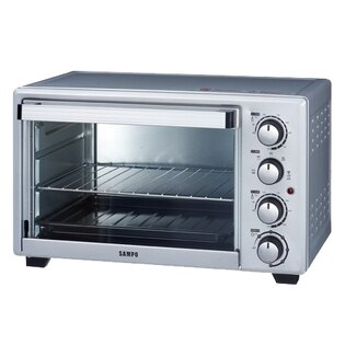 ◤A級福利品‧數量有限◢SAMPO聲寶30L雙溫控油切旋風烤箱KZ-PG30F