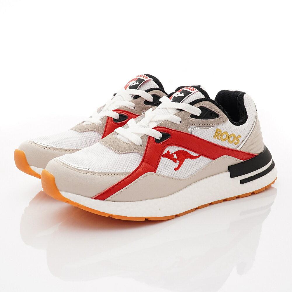 KangaROOS休閒運動男鞋-系列-KM01021白紅(男段)領卷最高折188元