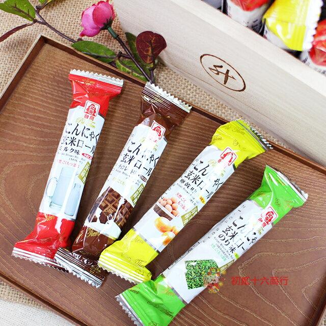 【0216零食會社】北田 蒟蒻糙米捲(綜合口味)-奶素