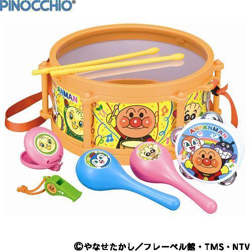 【真愛日本】16080300009ANP樂器玩具組   電視卡通 麵包超人 細菌人 兒童玩具 正品