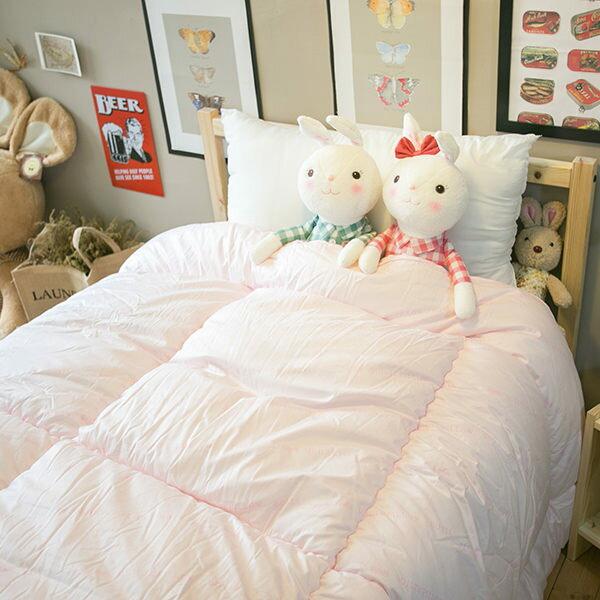 韓式棉絨單人被(4.5尺*6.5尺) 表布純棉 台灣製造 品質優良 - 限時優惠好康折扣