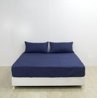 【深藍色】鋪棉防水透氣保潔墊