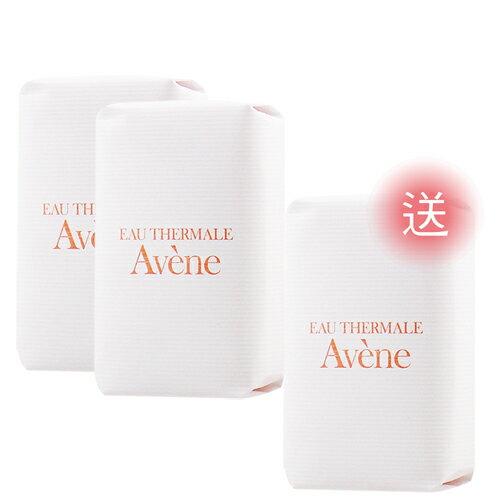 Avene雅漾活泉滋潤柔膚皂100g(買2送1)