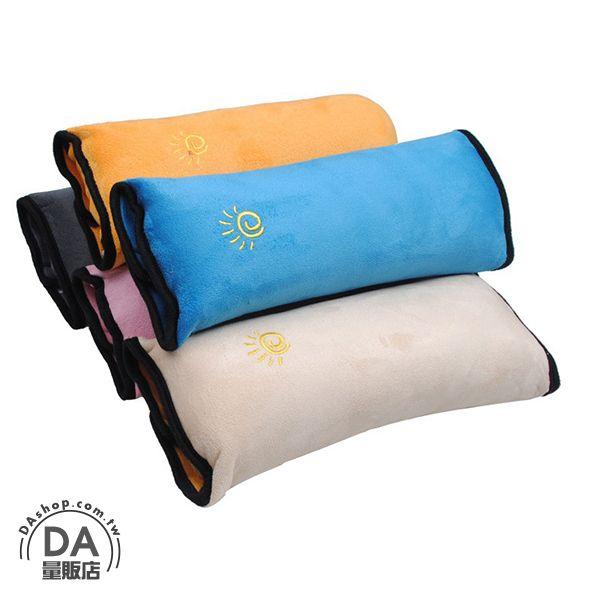 《汽機車用品兩件88折》兒童 汽車 安全帶套 護肩套 卡通 可愛 加長 加厚 安全 顏色隨機(V50-0277)