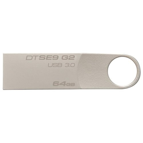 Kingston DataTraveler SE9 G2 64GB USB 3.0 Flash Drive (Metal casing) Model DTSE9G2/64GB 0