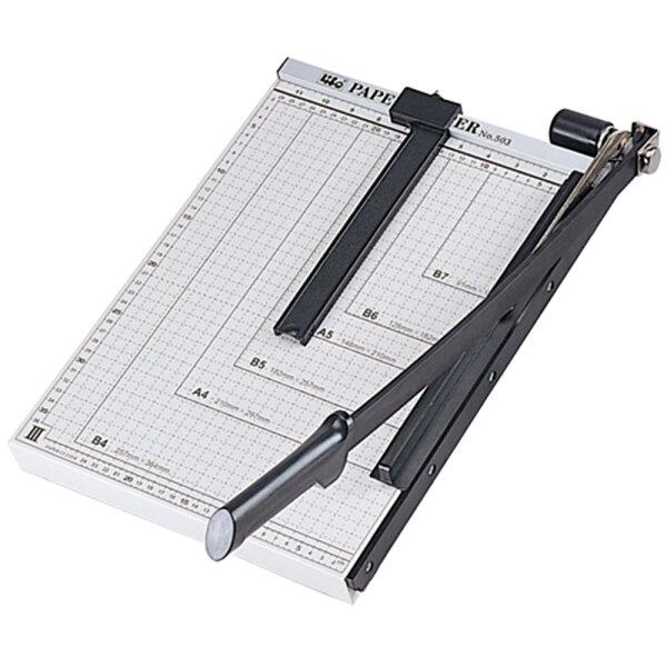 聯盟文具:LIFE徠福NO.503高級鐵製切紙機(裁紙刀)B4