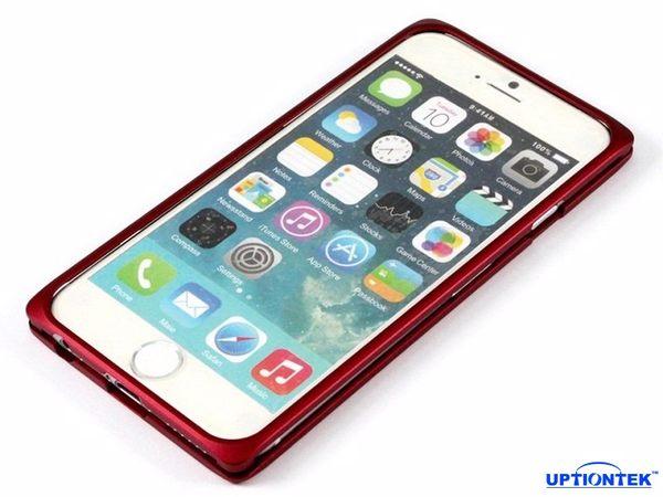 UptionTek Miyabi iPhone 6 4.7吋 IP631 紅色極致輕薄型鋁合金保護框