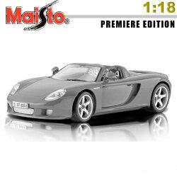【Maisto】PORSCHE CARRERA GT《1/18》合金模型車 -鐵灰