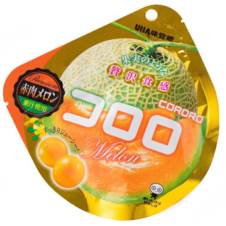 味覺糖 酷露露Q糖(哈密瓜味)-40g(有效期限:2018.02.24)