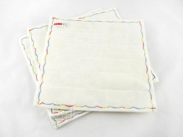 快樂屋♪  30x30cm 繡花抹布 3條  洗碗布  油切抹布  茶巾  擦拭布
