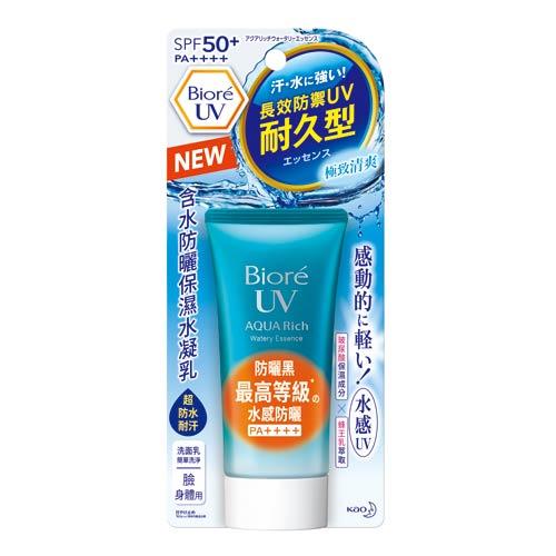 蜜妮Biore含水防曬保濕水凝乳50g(SPF50+PA+++)【愛買】