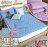 保潔墊雙人平鋪式 3層抗污、可機洗、細緻棉柔 5x6.2尺加厚鋪棉 (單品) #寢國寢城 #馬卡龍 #素色 - 限時優惠好康折扣