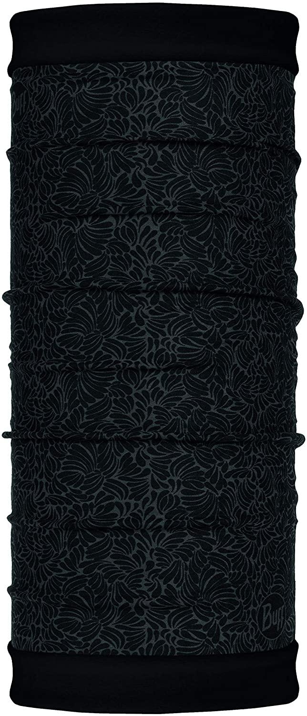 【【蘋果戶外】】BUFF BF118053 西班牙 魔術頭巾 POLAR【雙面式】保暖頭巾 深黑花斑 PLUS 圍脖
