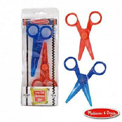 美國瑪莉莎 Melissa & Doug兒童專用塑膠安全剪刀組合包