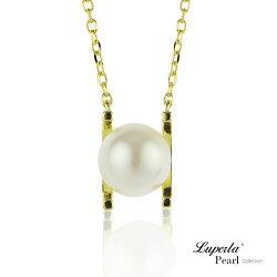 大東山珠寶 雪白之星 純銀珍珠項鍊