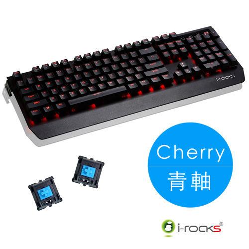 ~迪特軍3C~i~Rocks IRK60M cherry 青軸 全背光鋁合金機械式電競鍵盤