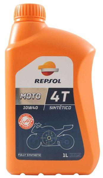 【REPSOL 】MOTO SINTETICO 4T 10W40 全合成 機車機油 10W-40