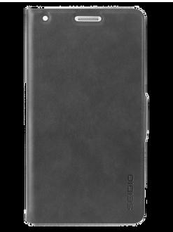 SEIDIO LEDGER™ 掀蓋保護套 for Samsung GALAXY Note 4 - 灰