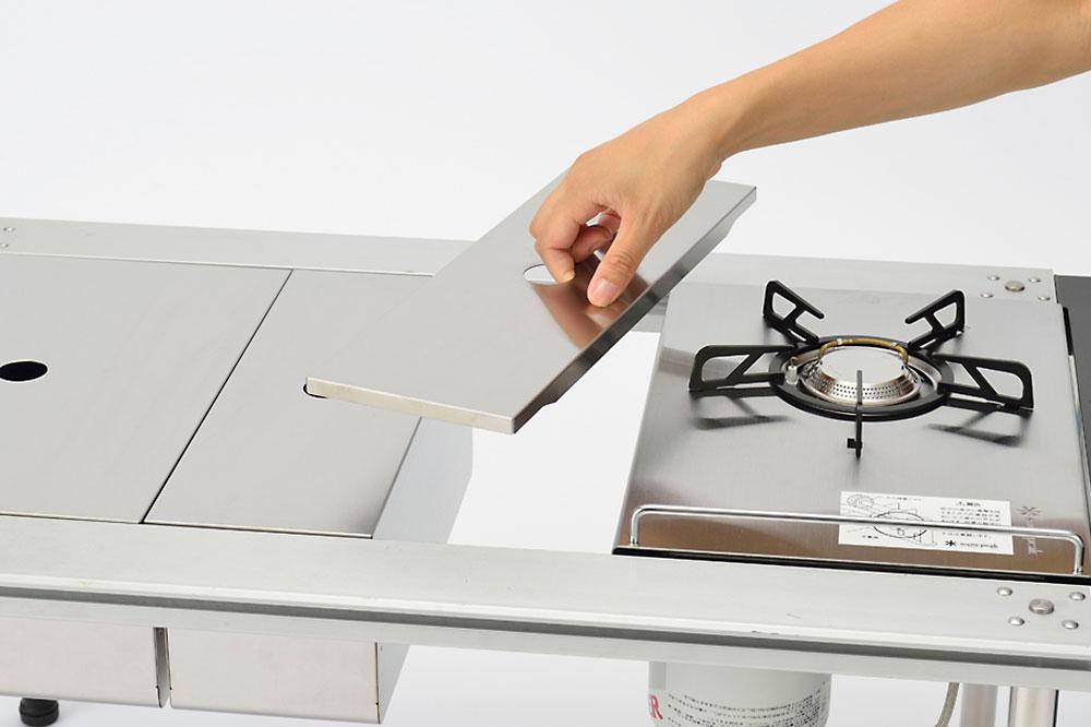 IGT 不鏽鋼置物盒蓋 1/2 / CK-026