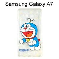 小叮噹週邊商品推薦哆啦A夢透明軟殼 [竹蜻蜓] Samsung Galaxy A7 小叮噹【正版授權】