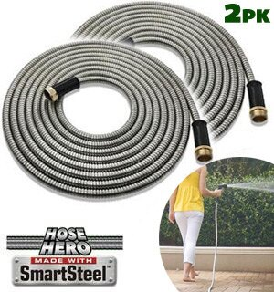 2-PK HOSE HERO - The World's Toughest Garden Hose 0