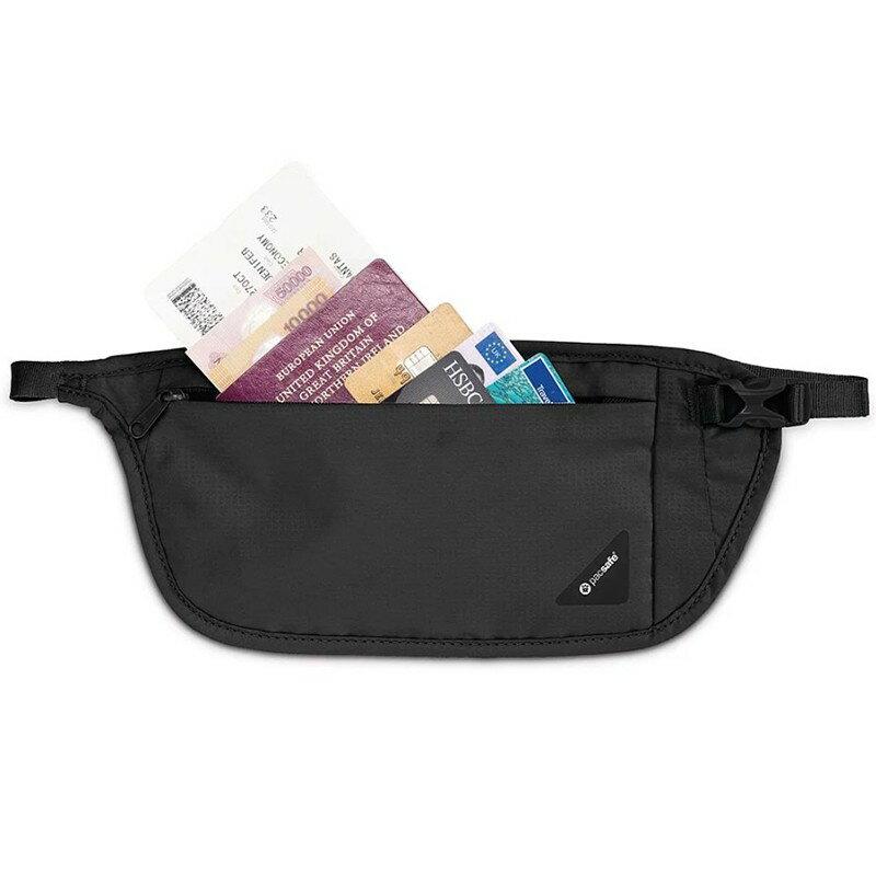 【Pacsafe】 Coversafe V RFID 透軟透氣隱藏腰包 V100-灰 10142103