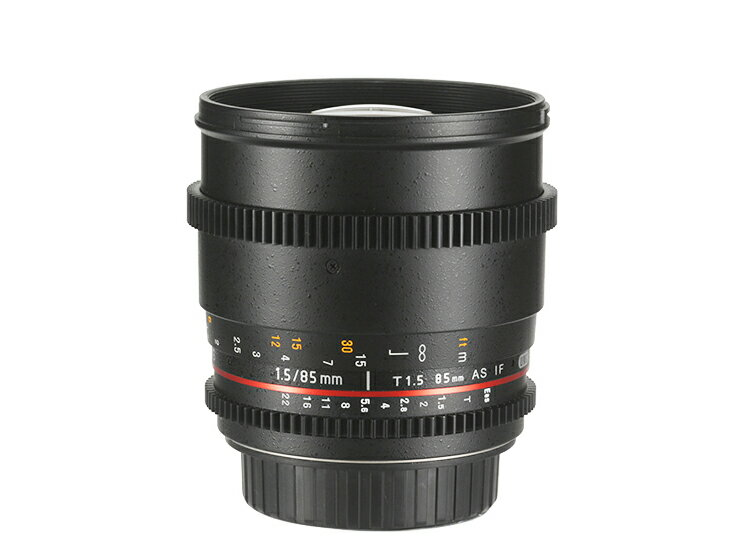 Samyang 鏡頭專賣店: 85mm/T1.5  ASPH UMC 微電影鏡頭 for Sony E(Nex 6 Nex 7 Blackmagic VG20 VG900 A7 A7R)