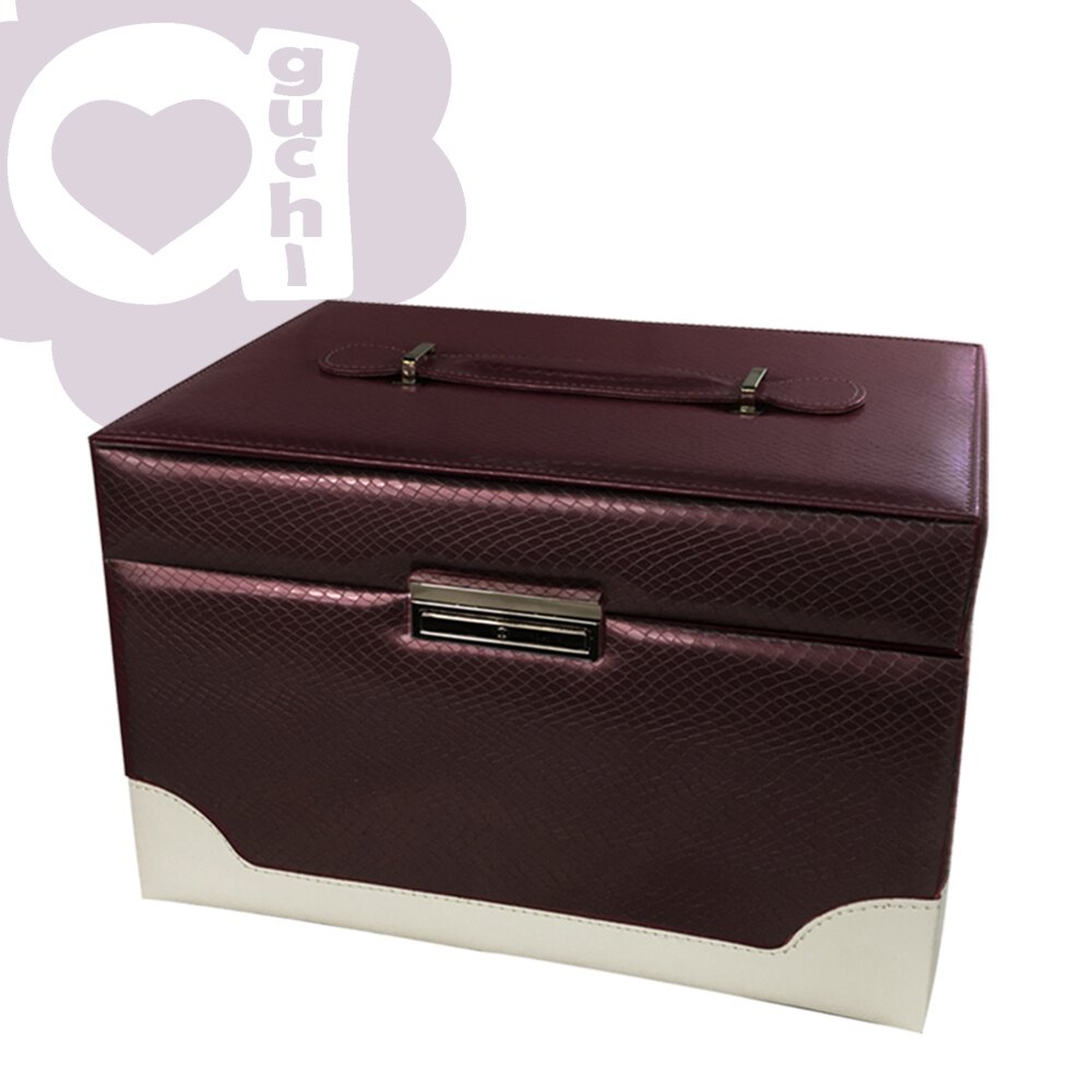 【亞古奇 Aguchi】繆斯女神-玫瑰紫 珠寶盒(浪漫女伶系列) - 手工精品時尚設計珠寶盒/戒盒/耳環盒 0