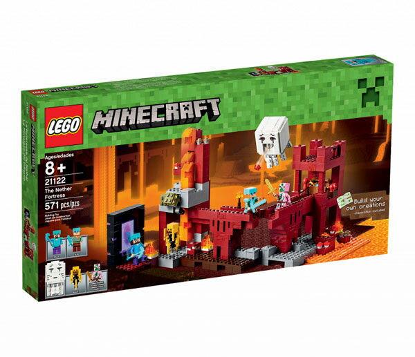 【LEGO 樂高積木】Minecraft 創世神系列 - The Nether Fortress LT-21122