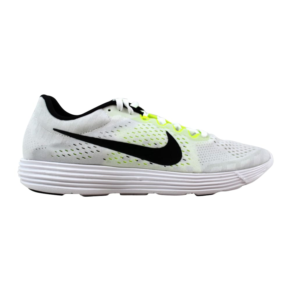 42626c815b1a Kixrx  Nike Lunaracer 4 White Black-Volt 844562-107 Men s Size 6.5 ...