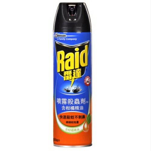 雷達 噴霧殺蟲劑-含柑橘精油 500ml