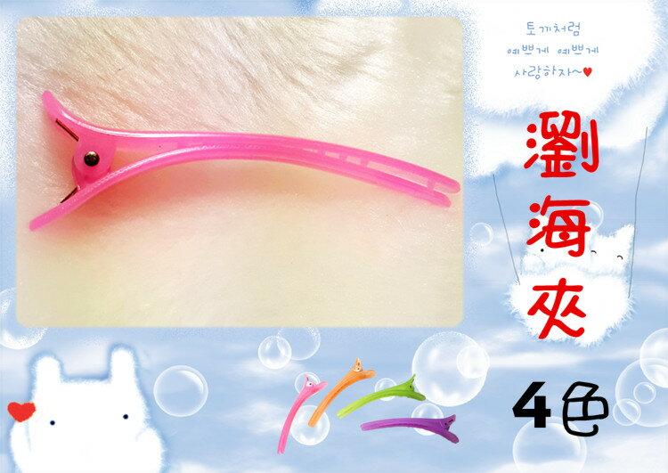 瀏海夾 洗臉夾 邊夾 DE5001 --- 日韓/髮飾/髮夾/鴨嘴夾/頭飾/王子與公主